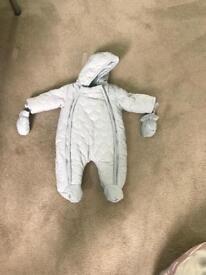 Mamas and papas snow suit 0-3 months