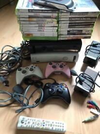 Microsoft Xbox 360 Bundle (job lot)