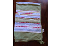 Ikea torva cotton blanket/throw