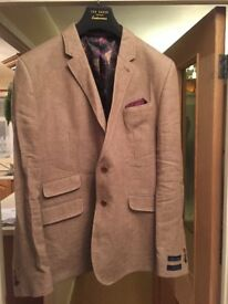 ted Baker linen jacket size 44 - 46 - Mens