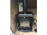 Log Coal Turf Burner Stove 10kw