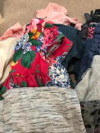 Bundle of girls clothes age 5,6,7