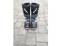 WULF trials bike boots