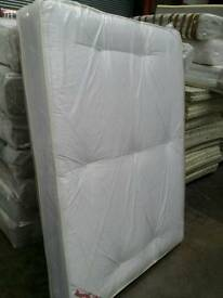KIN SIZE TUFTED ORTHOPAEDIC MATTRESS. FREE DELIVERY