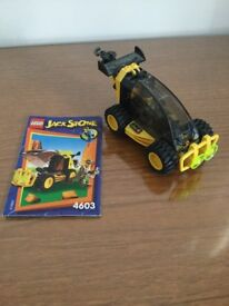Lego jack stone tow truck