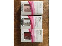 Gel nail polishes, shine wipes and nail care kit