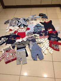Baby boy clothes 0-3 months bundle