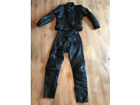 Belstaff Full Leather 2-piece motorbike / motorcycle suit