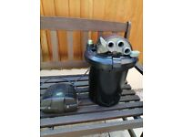 Pond pump & filter (Buyer collects)