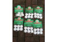 New Golf balls practice