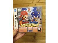 Mario vs Sonic Olympic Games Nintendo DS