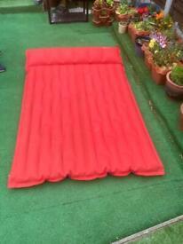 Retro barum camping double air bed