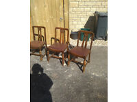 Three Dining Room Chairs, Only £15