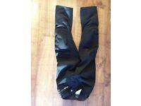 BMW MOTORCYCLE STREETGUARD GORETEX TROUSERS SIZE 12S IN EXCELLENT CLEANCONDITION
