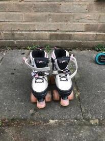 Child's adjustable roller skates, size 12-2