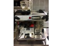 new elegance coffee machine compact plus with grinder