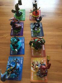 various figures Skylanders Spyros adventure