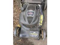 McCulloch self-propelled petrol lawn mower