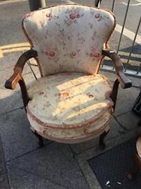 Beautiful Bedroom Boudoir Chair