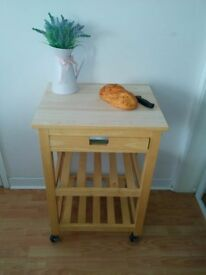 John Lewis Kitchen Island Unit/Butchers Block