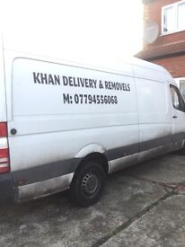 Delivery and removal services ( van &a man)