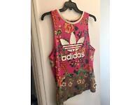 Adidas long line vest