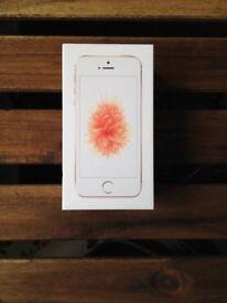 Apple iPhone SE - 128GB - Rose Gold (Unlocked) Brand New Factory Sealed + Warranty