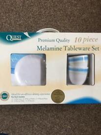 NEW Melamine Tableware Set