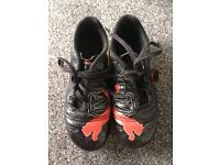 Boys Puma Evopower moulded boots size 13
