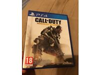 Ps4 call of duty advanced warfare mint condition