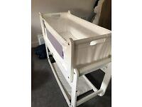 Snuzpod 3in1 Bedside Crib - White