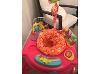 ***REDUCED*** Fisher Price Pink Petals Jumperoo