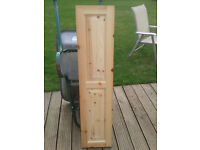 Wooden paneled doors great quality