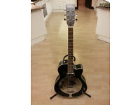"""Tanglewood electro-acoustic guitar - """"National Steel"""" style"""