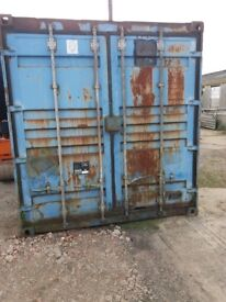 20 x 8 Shipping Container dry and secure with lock box on staffed site five min's from Hull