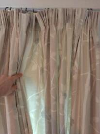 Beautiful Laura Ashley fully lined curtains RRP £150
