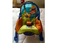 Baby rocking chair by Fisher Price