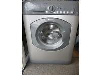 Hotpoint Washing Machine - 8 KG - 1500 RPM in Silver / Graphite
