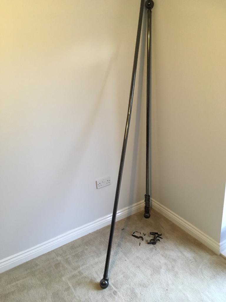 Curtain poles