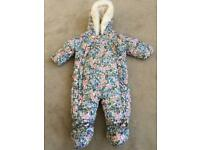 M&S Snow suit 0-3 mths. New