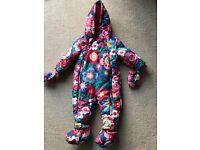 Toby tiger snow suit 9-12
