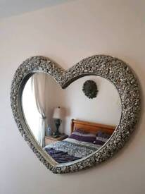 Fabulous Very Large Heart Wall Mirror Brand New