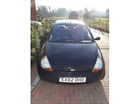 BLACK FORD KA, GOOD CONDITION, GOOD FUEL ECONOMY , ALLOYS, IDEAL FIRST CAR