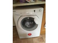 Hoover washing machine , excellent condition A++ rating .