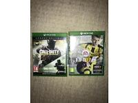 Call of duty and fifa 17