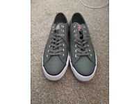 New leather Converse UK 9