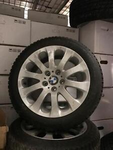 Mags originaux BMW 17 pouces + pneus NOKIAN Hakka 8 usagé  (10/32)