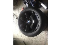 Bmw wheels good tyres 16 lightweight