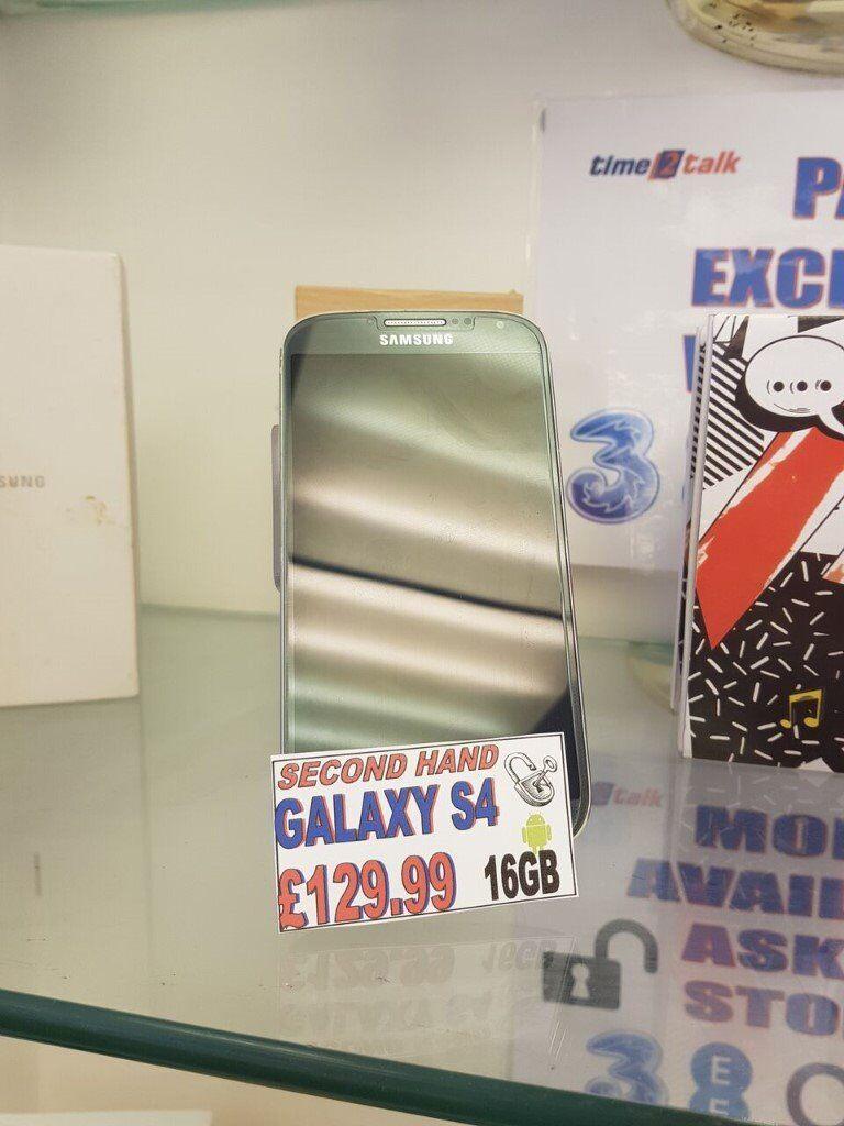 Samsung Galaxy S4 - Unlocked - 16GB - Black