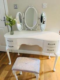 Upcycled Vintage Dressing Table